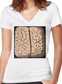 Boxed in. Women's Fitted V-Neck T-Shirt