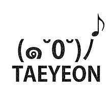Sing: Taeyeon B Photographic Print