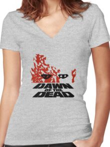 Dawn of the Dead Women's Fitted V-Neck T-Shirt