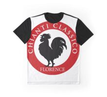 Black Rooster Florence Chianti Classico  Graphic T-Shirt
