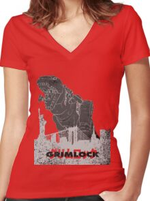 Grimlock Women's Fitted V-Neck T-Shirt