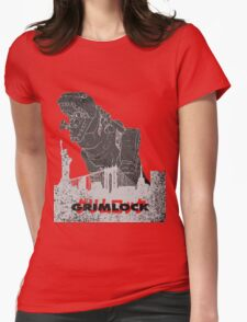 Grimlock Womens Fitted T-Shirt