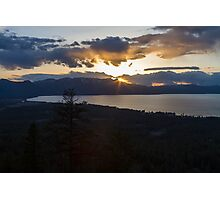 Grandeur - Lake Tahoe Photographic Print