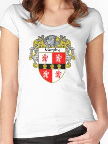 Murphy Coat of Arms/Family Crest Women's Fitted Scoop T-Shirt