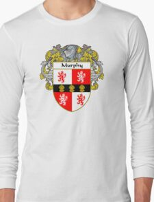 Murphy Coat of Arms/Family Crest Long Sleeve T-Shirt