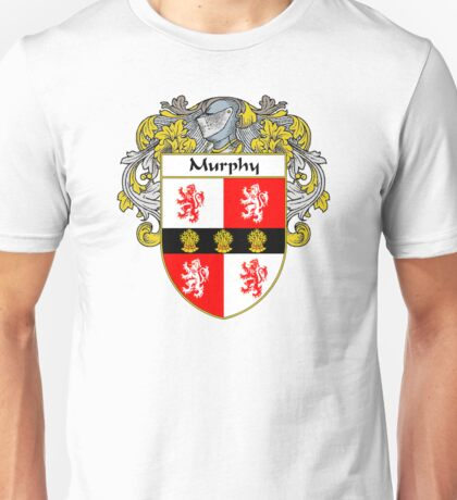 Murphy Coat of Arms/Family Crest Unisex T-Shirt