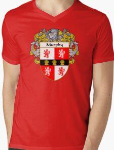 Murphy Coat of Arms/Family Crest Mens V-Neck T-Shirt