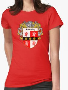 Murphy Coat of Arms/Family Crest Womens Fitted T-Shirt