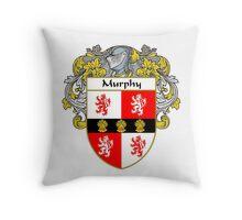 Murphy Coat of Arms/Family Crest Throw Pillow