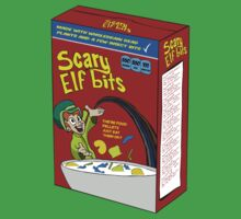 Scary Elf Bits Cereal by SlubberBubArt