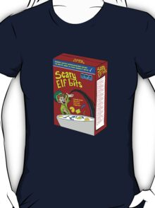 Scary Elf Bits Cereal T-Shirt