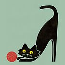The curious cat by Budi Satria Kwan