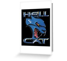 Hellcat - F6F Greeting Card