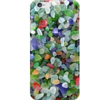 The Intense Colors of Sea Glass iPhone Case/Skin