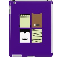 Minimal Monster Mash iPad Case/Skin