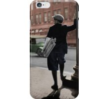 1930s Newsboy iPhone Case/Skin