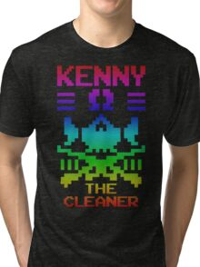 """THE CLEANER"" KENNY OMEGA Tri-blend T-Shirt"