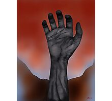 Night of the Living Hand Photographic Print