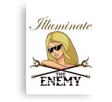 League Of Legends: Lux - Illuminate The Enemy Canvas Print