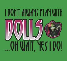 Don't Always Play with Dolls Venus One Piece - Short Sleeve