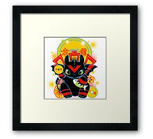 Lucky Dragon Framed Print