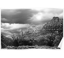 Zion National Park 2  - southwestern Utah USA Poster