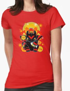Lucky Dragon Womens Fitted T-Shirt