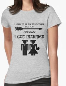 Skyrim Marriage Womens Fitted T-Shirt