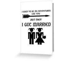Skyrim Marriage Greeting Card
