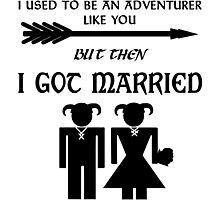 Skyrim Marriage Photographic Print