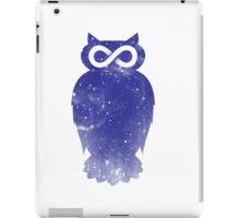Cosmic owl II iPad Case/Skin