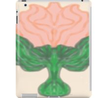 Rose Abstract in Peach iPad Case/Skin