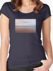 The sea Women's Fitted Scoop T-Shirt
