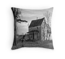Someone`s Childhood Home Throw Pillow
