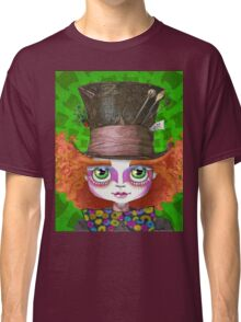 "Johnny Depp as Mad Hatter in Tim Burton's ""Alice in Wonderland"" Classic T-Shirt"