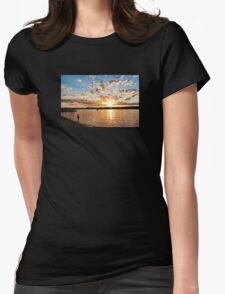 Pirate Fishing Womens Fitted T-Shirt