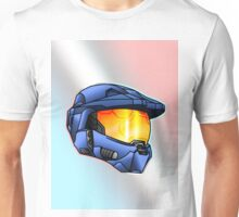 Stylised Spartan Blue Unisex T-Shirt