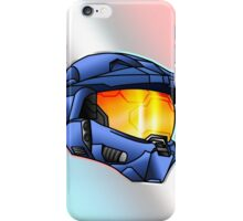 Stylised Spartan Blue iPhone Case/Skin