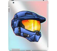Stylised Spartan Blue iPad Case/Skin