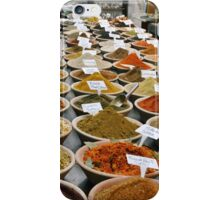 Spice Market, Jerusalem iPhone Case/Skin
