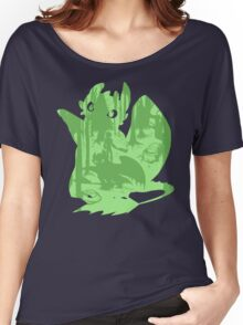 Shadow Dragon Women's Relaxed Fit T-Shirt