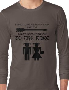 I used to be an adventurer Long Sleeve T-Shirt