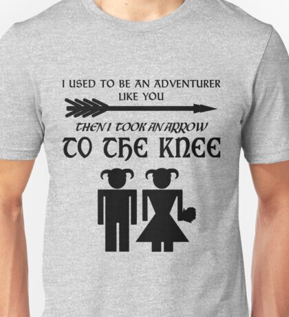 I used to be an adventurer Unisex T-Shirt