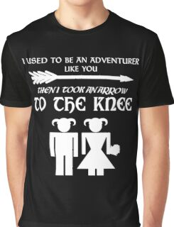 I used to be an adventurer (White) Graphic T-Shirt