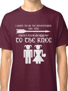 I used to be an adventurer (White) Classic T-Shirt