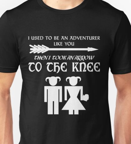 I used to be an adventurer (White) Unisex T-Shirt