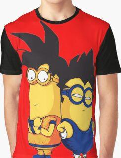 Dragon Ball Z The Minions Minions Minion Graphic T-Shirt