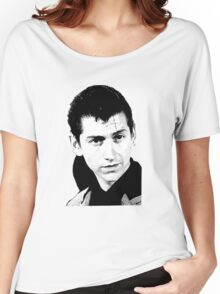 alex turner black and white Women's Relaxed Fit T-Shirt