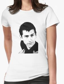 alex turner black and white Womens Fitted T-Shirt