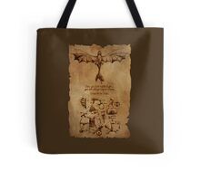 DaVinci's Dragon (Hiccup's Sketchbook) Tote Bag